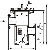 一、SRBIII4高低篮式过滤器产品概述 SRBIII4高低篮式过滤器是采用焊接工艺将高低接管焊接在壳体上,再将法兰焊接在接管上,方便连接管道或设备,该过滤器壳体材料有碳钢、合金钢和不锈钢等,客户可根据工况条件选定,本篮式过滤器滤筒和滤网全部采用不锈钢材料制作,如果工况有特殊要求时,用户可专门注明过滤器内件材质,我厂可按客户需求承接定制。 SRBIII4高低篮式过滤器主要由接管、筒体、滤篮、法兰、法兰盖及紧固件等主要部件组成,过滤精度在过滤器中属于一种精度最佳的过滤器,特别适合过滤所含杂质多,黏度大的介质